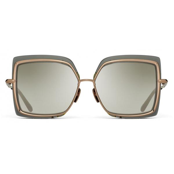 DITA - Narcissus - Crystal Gold - DTS503 - Sunglasses - DITA Eyewear