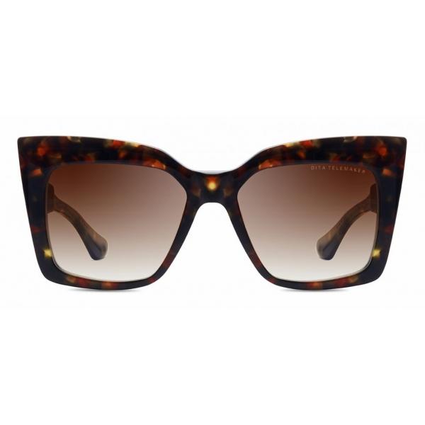 DITA - Telemaker - Tartaruga Marrone - DTS704 - Occhiali da Sole - DITA Eyewear