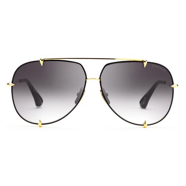 DITA - TALON - Black Yellow Gold - 23007 - Sunglasses - DITA Eyewear
