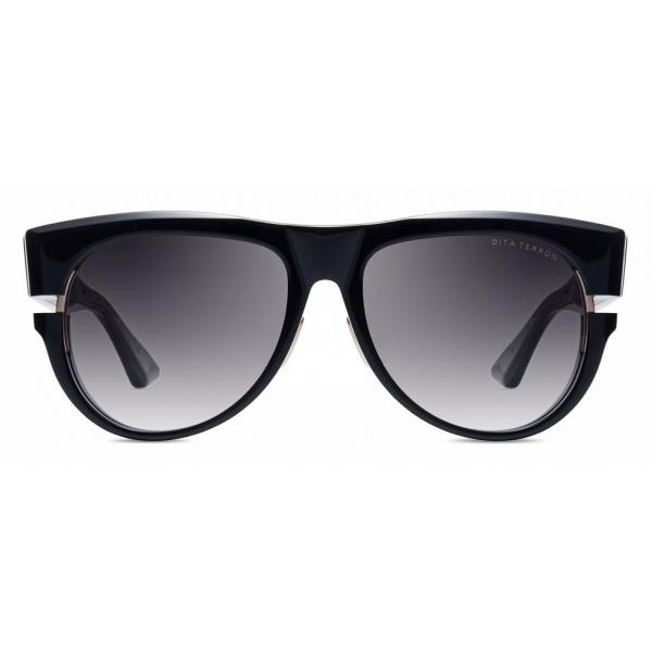 DITA - Terron - Alternative Fit - Black Yellow Gold - DTS703 - Sunglasses - DITA Eyewear