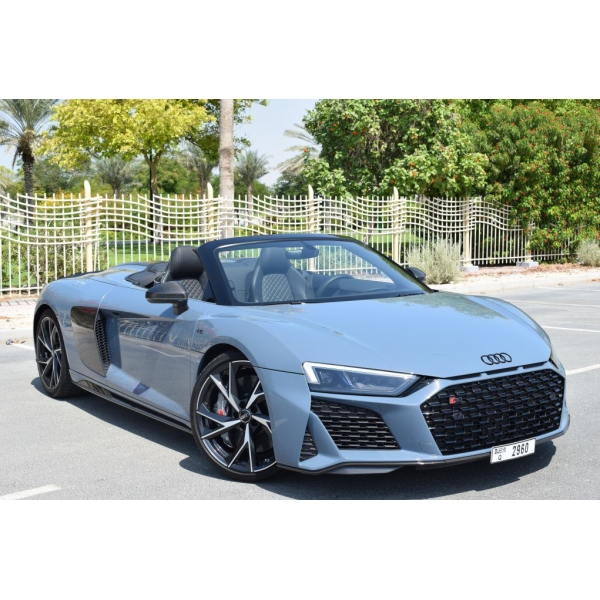 Superior Car Rental - Audi R8 Spyder - Exclusive Luxury Rent