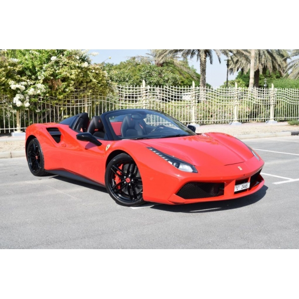 Superior Car Rental - Ferrari 488 Spider - Exclusive Luxury Rent