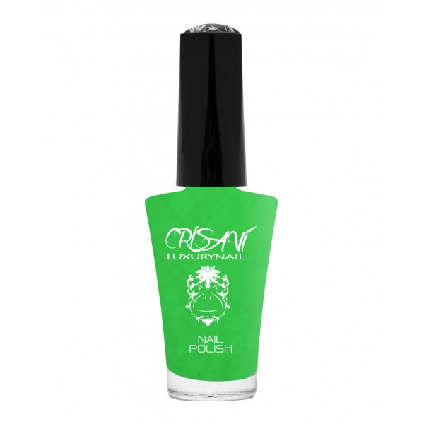 Crisavì Luxury Nail - Crisavì Nail Polish 5 Free - Sevene - Green - Yellow - The Best Kept Beauty Secret for Your Hands
