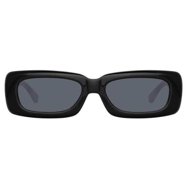 The Attico - The Attico Mini Marfa in Nero - ATTICO16C1SUN - Occhiali da Sole - Official - The Attico Eyewear by Linda Farrow