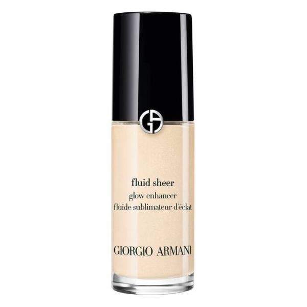 Giorgio Armani - Fluid Sheer Glow Enhancer - A Liquid Highlighte Mixed  Foundation for a Natural Glow Result