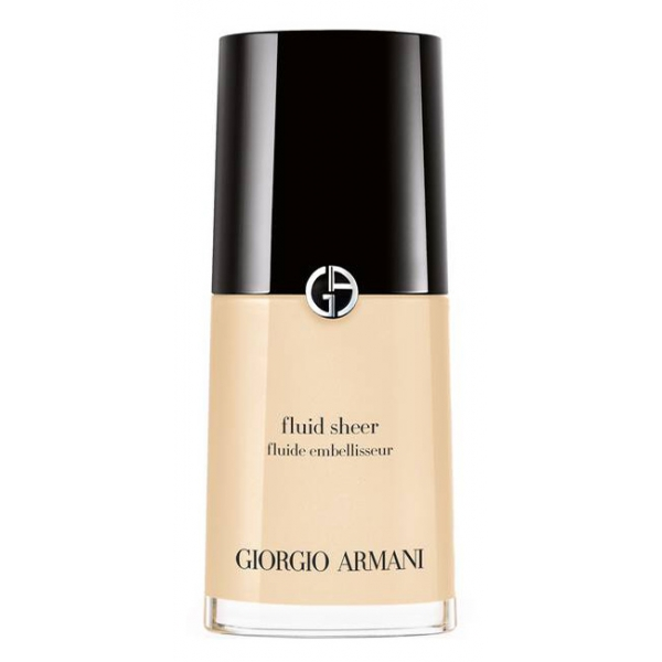 Giorgio Armani - Fluid Sheer Highlighter - Natural Effect Foundation for Radiant Skin - Luxury