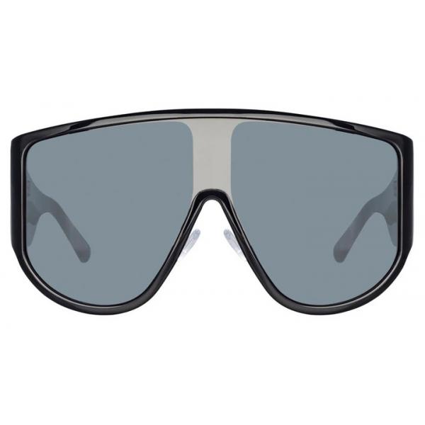 The Attico - The Attico Dana Iman Shield Sunglasses in Black - ATTICO1C1SUN - The Attico Eyewear by Linda Farrow
