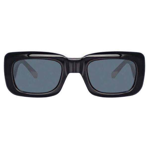 The Attico - The Attico Marfa Rectangular Sunglasses in Black - ATTICO3C1SUN - The Attico Eyewear by Linda Farrow