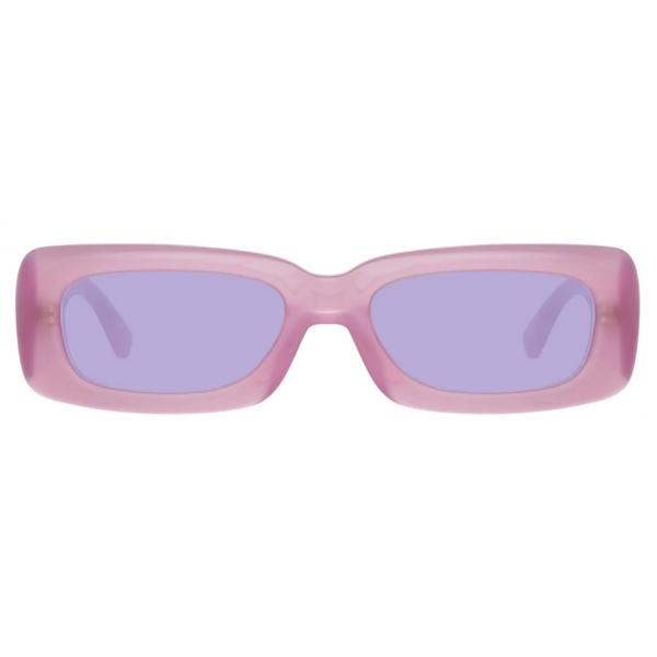 The Attico - The Attico Mini Marfa in Lilac - ATTICO16C2SUN - Sunglasses - Official - The Attico Eyewear by Linda Farrow