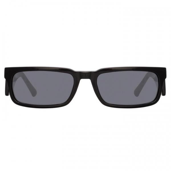 Marcelo Burlon - 5 Special Sunglasses in Black - County of Milan - Marcelo Burlon Eyewear by Linda Farrow