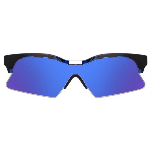 Marcelo Burlon - 3 Special Sunglasses in Tortoiseshell - MB3C3SUN - County of Milan - Marcelo Burlon Eyewear by Linda Farrow