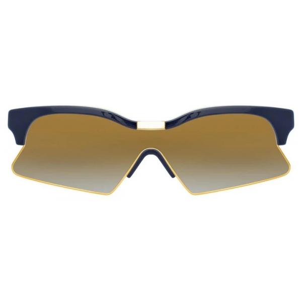 Marcelo Burlon - 3 Occhiali da Sole Speciali in Nero e Giallo - MB3C2SUN - Marcelo Burlon Eyewear by Linda Farrow