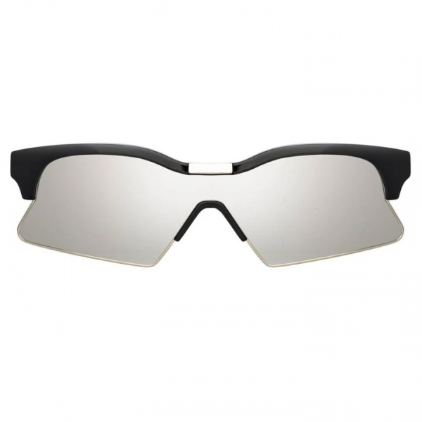Marcelo Burlon - 3 Special Sunglasses in Black - MB3C1SUN - Marcelo Burlon Eyewear by Linda Farrow