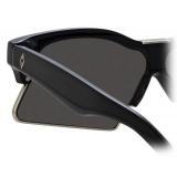 Marcelo Burlon - 3 Occhiali da Sole Speciali in Nero - MB3C1SUN - Marcelo Burlon Eyewear by Linda Farrow