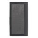 TecknoMonster - Vertical Wallet - Portafoglio in Fibra di Carbonio Aeronautico e Pelle - Luxury - Handmade in Italy