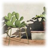 Qeeboo - Filicudi Chair - Set of 2 Pieces - Balsamo Verde Ottone - Sedia Qeeboo by Stefano Giovannoni - Arredo - Casa