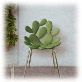 Qeeboo - Filicudi Chair - Set of 2 Pieces - Bianco Ottone - Sedia Qeeboo by Stefano Giovannoni - Arredo - Casa