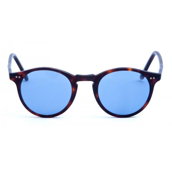 David Marc - ADAMO 519 - Havana - Sunglasses - Handmade in Italy - David Marc Eyewear