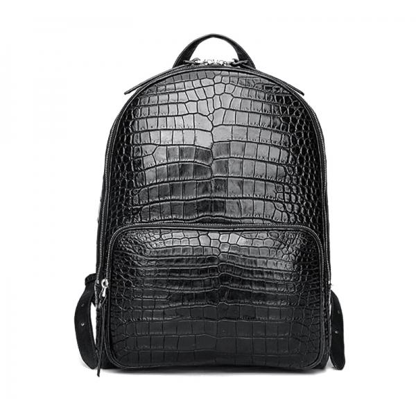 Jovanny Capri - Splendid Chrocodile Backpack - Leather Backpack - Luxury High Quality