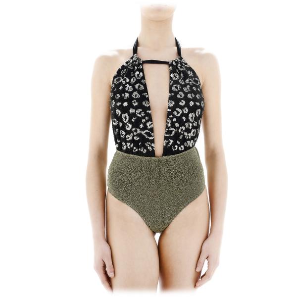 Grace - Grazia di Miceli - Animalier Intero - Luxury Exclusive Collection - Made in Italy - High Quality Swimsuit