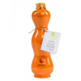 Urselli Food - Nobil Olio - Collection Orange - Olio Extravergine d'Oliva - Ceramica Artigianale - Alta Qualità Italia - Puglia