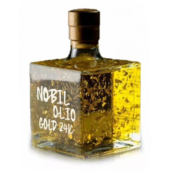 Urselli Food - Nobil Olio - Olio Reale 24K - Exclusive Luxury Collection - Olio d'Oliva - Alta Qualità Italiano - Puglia
