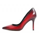 Jovanny Capri - Bellissime Scarpe - Rosso - Stiletto Donna - Effetto Patina - Scarpe in Pelle - Alta Qualità Luxury
