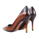Jovanny Capri - Bellissime Scarpe - Viola - Stiletto Donna - Effetto Patina - Scarpe in Pelle - Alta Qualità Luxury