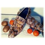 Jovanny Capri - Scarpe Double Monk - Effetto Patina - Handmade in Italy - Scarpe in Pelle - Alta Qualità Luxury