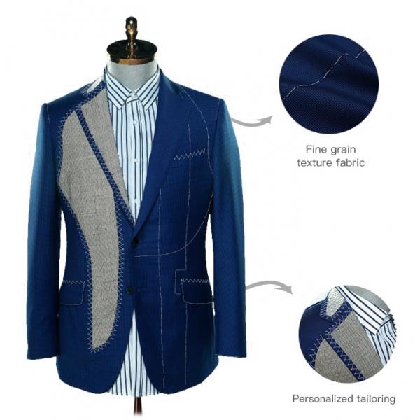 Jovanny Capri - Suit - High Neapolitan Tailoring - Loro Piana 150s Fabric - Luxury High Quality