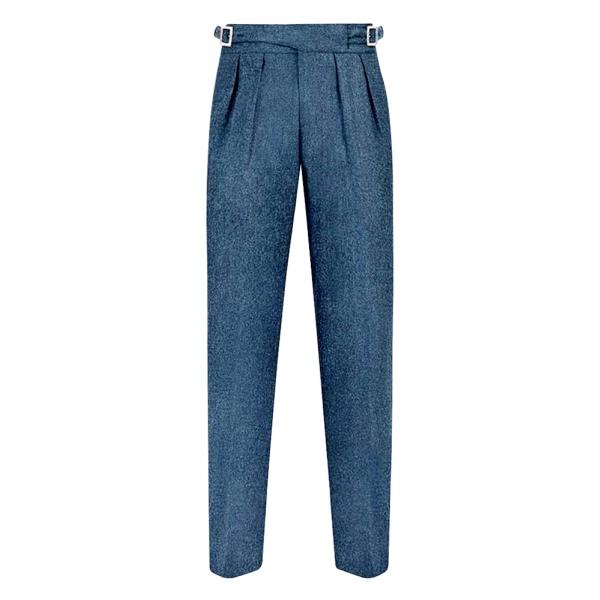 Jovanny Capri - Trousers - High Neapolitan Tailoring - Loro Piana 150s Fabric - Luxury High Quality