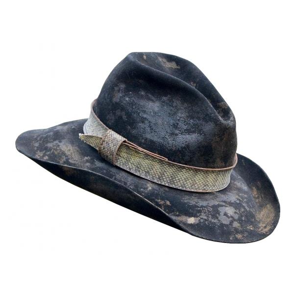 Jovanny Capri - Super Stylish Fedoro Hat - High Italian Handmade Tailoring - Hat - Luxury High Quality
