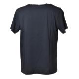 MC2 Saint Barth - T-Shirt Girocollo con Money Scrooge Disney - Blu - Luxury Exclusive Collection