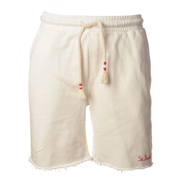 MC2 Saint Barth - Randlef Fade 01 Bermuda - White - Luxury Exclusive Collection