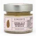 Vincente Delicacies - Crema alla Mandorla d'Avola di Sicilia - Creme Spalmabili Artigianali - 90 g