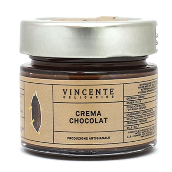 Vincente Delicacies - Chocolat Chocolate Cream - Extra Dark - Artisan Spreadable Creams - 90 g