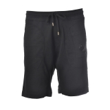 C.P. Company - Bermuda Effetto Jogging con Vita Elastica - Nero - Pantaloni - Luxury Exclusive Collection