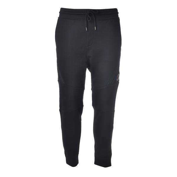 C.P. Company - Pantalone della Tuta Effetto Jogging - Blu - Pantaloni - Luxury Exclusive Collection