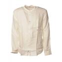 C.P. Company - Camicia con Collo alla Coreana - Bianco - Luxury Exclusive Collection