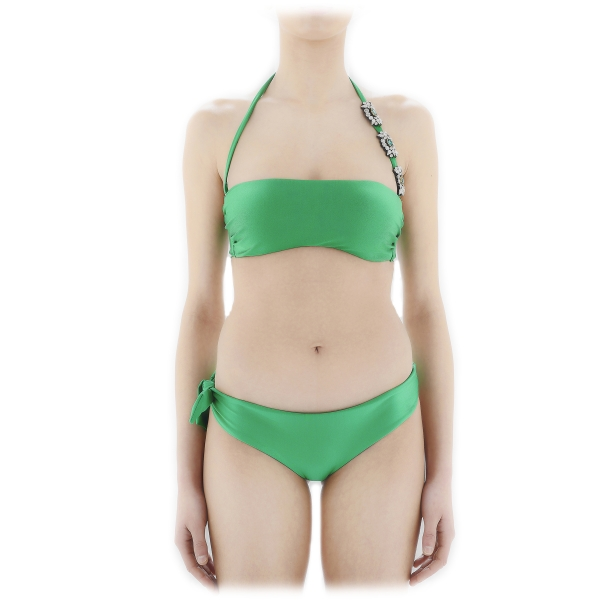 Grace - Grazia di Miceli - Emerald - Luxury Exclusive Collection - Made in Italy - High Quality Swimsuit