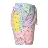 MC2 Saint Barth - Costume Caprese Bandanna Round Color - Fantasia Multicolor - Luxury Exclusive Collection