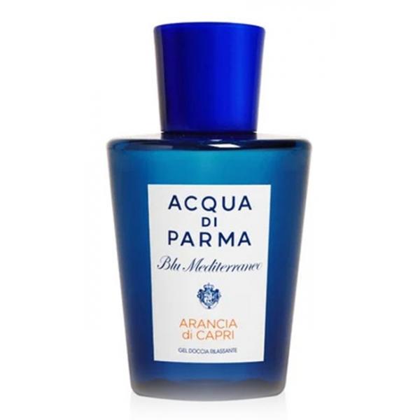 Acqua di Parma - Relaxing Shower Gel - Arancia di Capri - Blu Mediterraneo - Collezione Bagno - Luxury - 200 ml