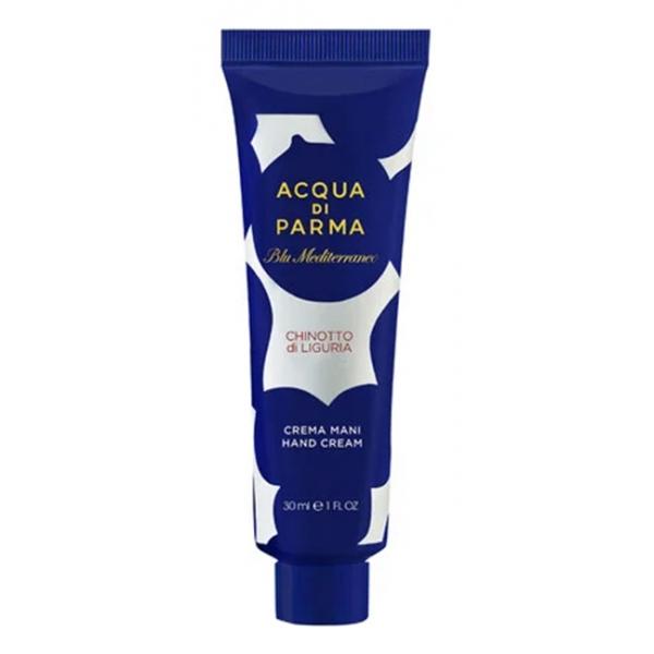 Acqua di Parma - Hand Cream - Chinotto di Liguria - Hand Cream - Blu Mediterraneo - Luxury - 30 ml