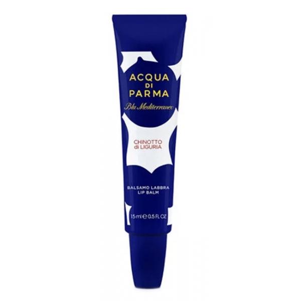 Acqua di Parma - Lip Balms - Chinotto di Liguria - Lip Balm - Blu Mediterraneo - Raccolta del Corpo - Luxury - 15 ml