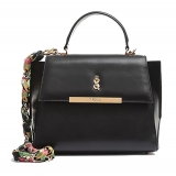 Maison Fagiano - Calf Leather - Nera - Borsa Artigianale - The New City Exclusive Collection - Luxury - Handmade in Italy