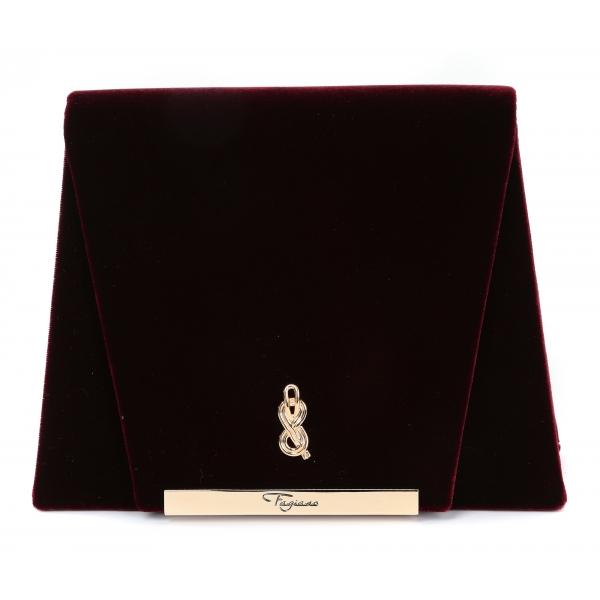 Maison Fagiano - Velluto - Bordeaux - Borsa Artigianale - New Evening Collection - Luxury - Handmade in Italy