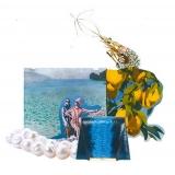 Maison Fagiano - Razza e Nappa - Grigio / Nero - Borsa Artigianale - New Evening Collection - Luxury - Handmade in Italy