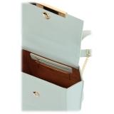 Maison Fagiano - Calf Leather - Menta - Zaino Borsa Artigianale - New Sport Exclusive Collection - Luxury - Handmade in Italy