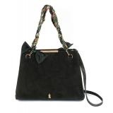 Maison Fagiano - Suede Leather - Khaki - Borsa Artigianale - New Work Collection - Luxury - Handmade in Italy