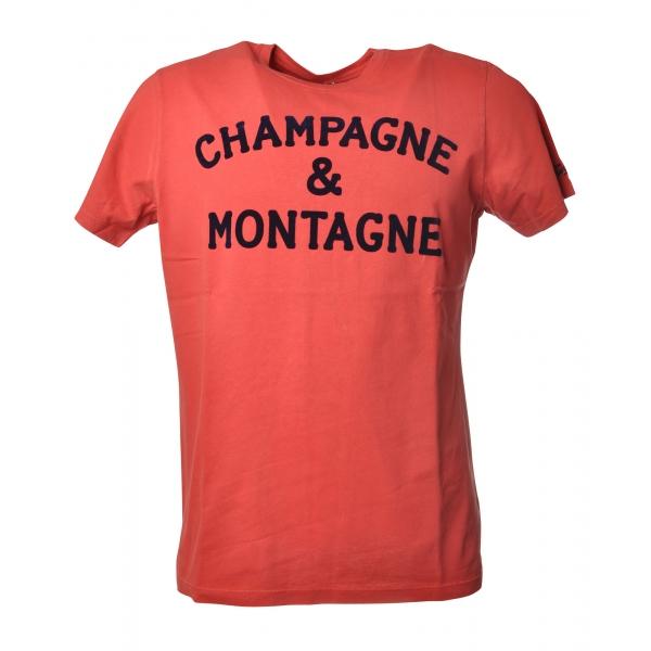 MC2 Saint Barth - T-Shirt Arnott Monchamp - Red - Luxury Exclusive Collection